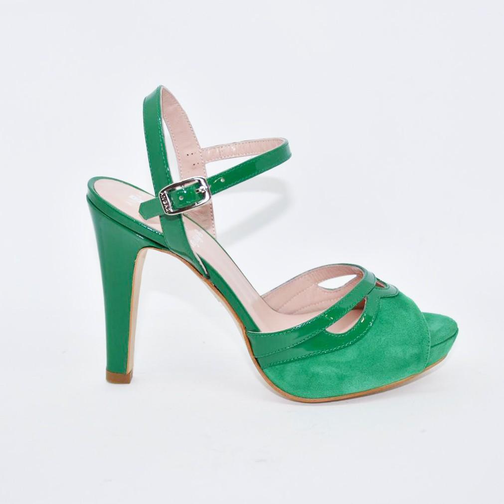Sandalia Celia Verde